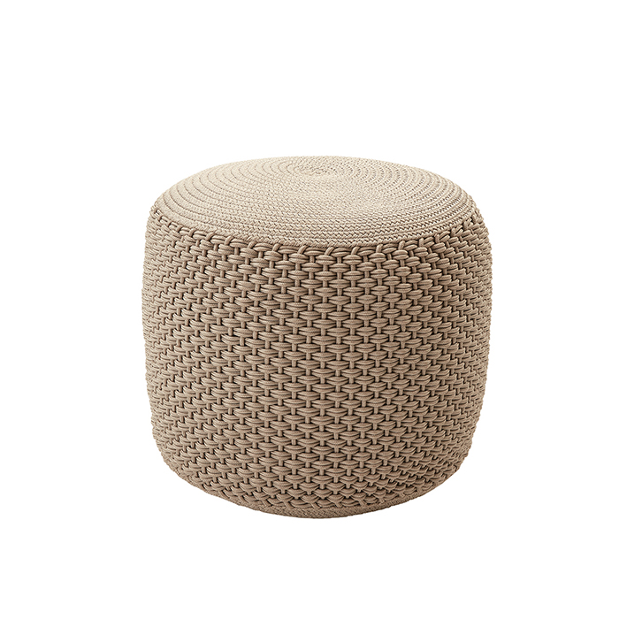 BERENICE SMALL - round pouf ø 50 outdoor