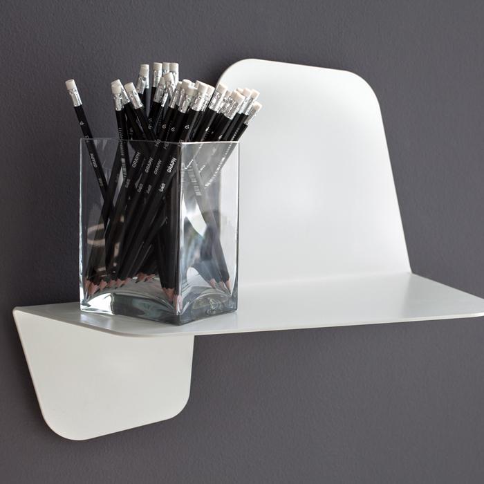 FLAP Metal Shelf length 42cm