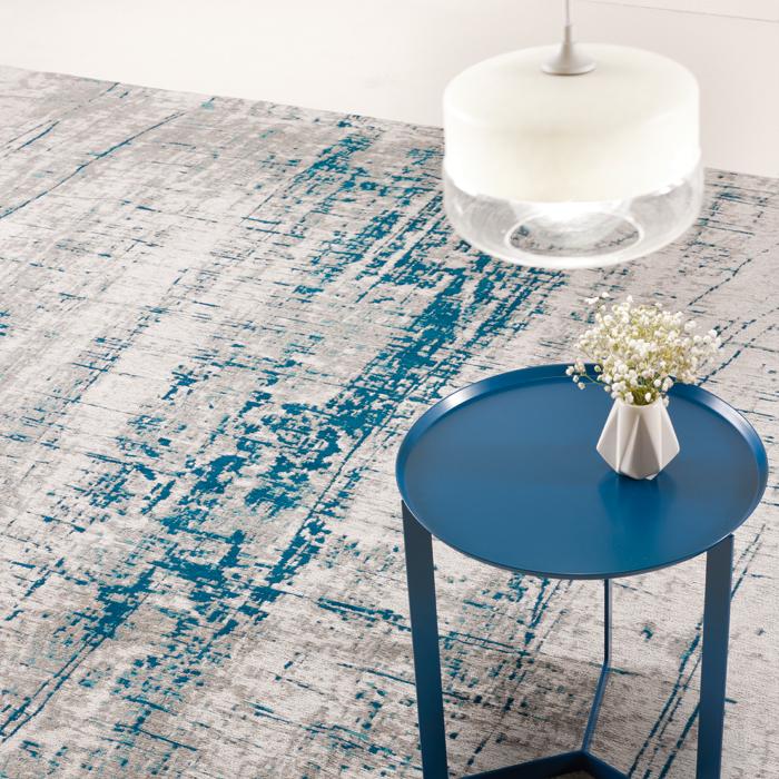 RAGGIO DI LUNA cotton chenille and polyester carpet