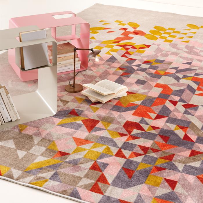 PROFUMO DI LAVANDA velvet tufted carpet