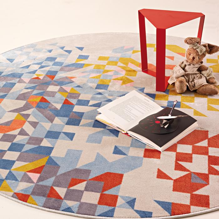 SAPORE DI MARE velvet tufted carpet