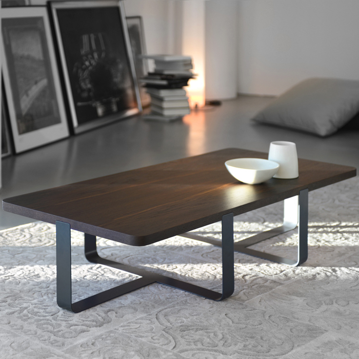 INN 2 - coffee-table with smoked oak top