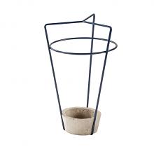 AMBROGIO - portaombrelli con base in cemento