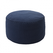 BERENICE BIG - round pouf ø 80 outdoor