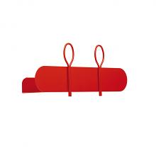 BALLOON 45 A shelf and coat hanger cm 45x12x18h