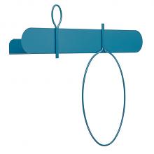 BALLOON 60 B shelf with coat hanger cm 60x12x52h