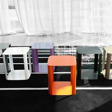 OFFSET 1 tavolino in metallo cm 40x40x45h