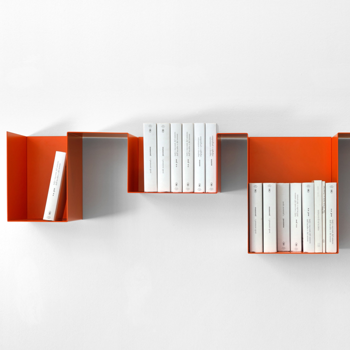 SPREAD - modular shelf made of metal