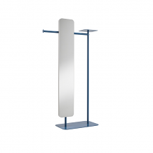 BABELE BIG valet stand with big mirror