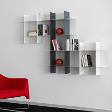 INNESTO (Supporting base) for the metal bookcase